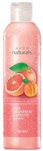 Avon Naturals Rózsaszín Grapefruit és Sárgabarack Testápoló