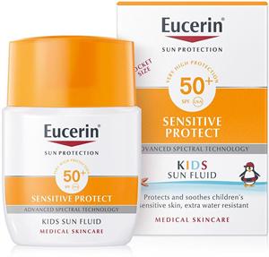 Eucerin Sun Sensitive Protect Gyermek Naptej FF50+