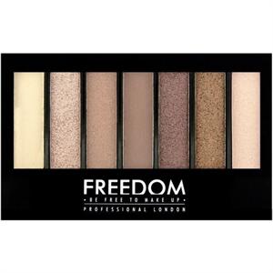 Freedom Makeup Pro Shade & Brighten Szemhéjpúder Paletta Stunning Rose Kit