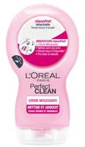 L'Oreal Perfect Clean Arctisztító Száraz és Érzékeny Bőrre