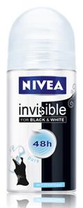 Nivea Invisible for Black & White Pure Golyós Dezodor