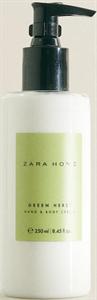 Zara Home Green Herbs Hand & Body Cream