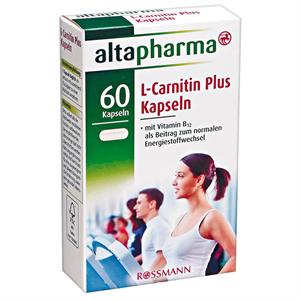 Altapharma L-Karnitin Kapszula