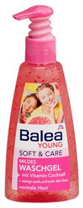 Balea Young Soft&Care Vitaminos Arclemosó Gél
