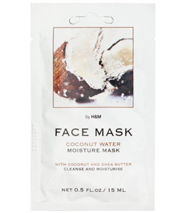 H&M Coconut Water Moisture Mask