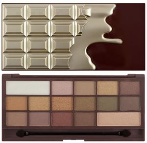 I Heart Makeup Chocolate Szemhéjpúder Paletta - Golden Bar