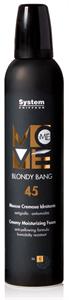 Dikson Move Me 45 Blondy Bang - Tápláló Krémhab Sárgulásgátló Hatással