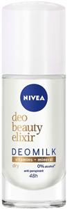 Nivea Beauty Elixir Deomilk Dry Deo Roll-On