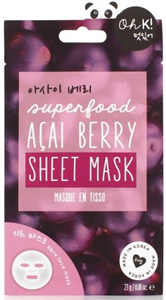 Oh K! Super Food Acai Berry Sheet Mask