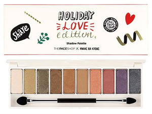 Thefaceshop Shadow Pallette Holiday Love Edition