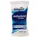 Ultra Compact Antibacterial Wet Wipes