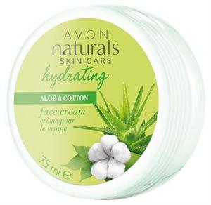 Avon Naturals Aloe és Gyapot Hidratáló Arckrém