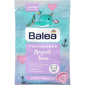 Balea Magical Team Intenzíven Hidratáló Szövetmaszk