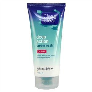 Clean&Clear Deep Action Mélytisztító Arclemosó