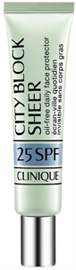 Clinique City Block Sheer Oil-Free Daily Face Protector SPF25