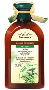 Green Pharmacy Hajbalzsam Száraz, Töredezett és Vékony Szálú Hajra Csalán Kivonattal