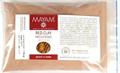 Mayam Napon Szárított, Finom Szemcséjű Vörös Agyag