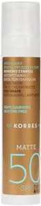 Korres Red Grape Sunscreen Face Cream Matte SPF50