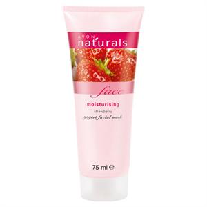 Avon Naturals Hidratáló Eper és Joghurt Arcmaszk