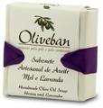 Oliveban Kézzel Készített Olivaszappan Mézzel és Levendulával