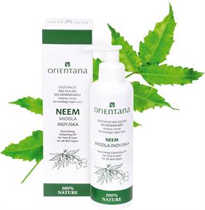 Orientana Neem Nourishing Cleansing Oil For Face & Eyes