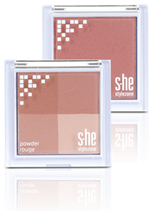 s-he stylezone Stylezone Powder Rouge Arcpirosító