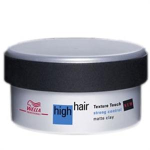 Wella High Hair Texture Touch Strong Control Matt Krémpaszta