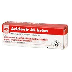Aciclovir AL 50 mg/g Krém