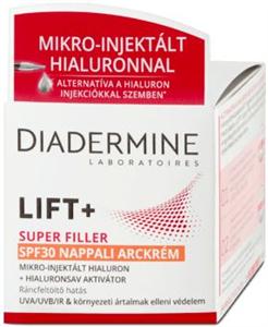 Diadermine Lift + Super Filler SPF30 Nappali Arckrém