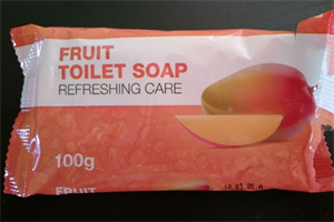Fruit Toilet Soap