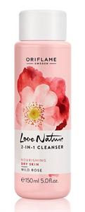 Oriflame Love Nature 2 az 1-ben Arctisztító Vadrózsával