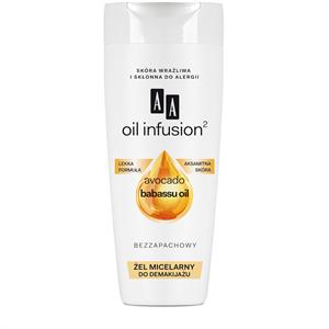AA Oil Infusion2 Micellás Szem- és Arcfesték Lemosó Gél
