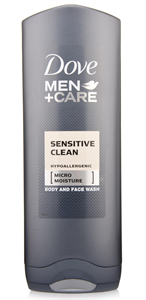 Dove Men+Care Sensitive Clean Tusfürdő