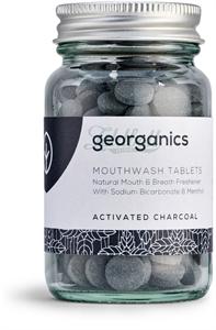 Georganics Fogtisztító Tabletta Aktív Szén