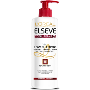 L'Oreal Elseve Total Repair 5 Low Shampoo Gentle Cleansing Cream