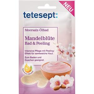 Tetesept Meersalz-Ölbad Mandelblüte Bad & Peeling