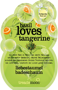 Treacle Moon Basil Loves Tangerine Habfürdő
