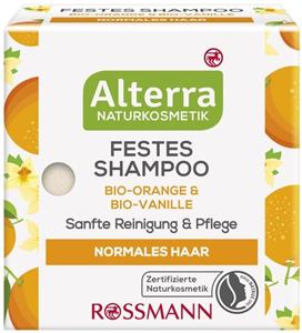 Alterra Szilárd Sampon Bio Narancs-Bio Vanília
