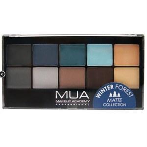 Makeup Academy Winter Forest Paletta