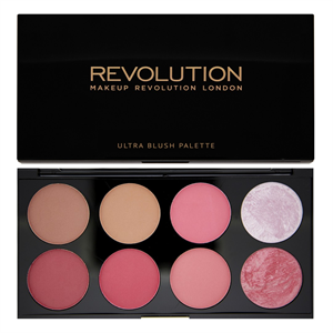 MakeUp Revolution Ultra Blush Pirosító Paletta - Sugar and Spice