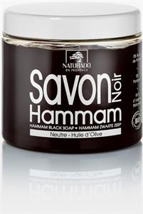 Naturado Black Soap Hammam With Olive Oil - Fekete Szappan Olívaolajjal