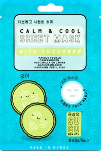 SUGU Beauty Calm&Cool Sheet Mask With Cucumber