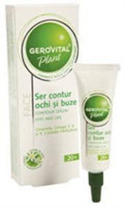 Gerovital Plant Szem- és Ajakkörnyék Ápoló Szérum