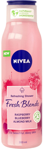Nivea Fresh Blends Raspberry Blueberry Almond Milk Tusfürdő