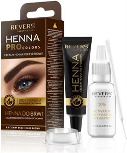 Revers Cosmetics Henna Pro Colors Szempilla és Szemöldökfesték