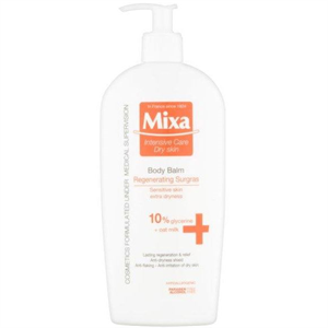 Mixa Intensive Care Dry Skin Body Balm Regenerating Surgras 10% Glycerine + Oat Milk