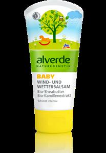 Alverde Baby Wind- und Wetterbalsam