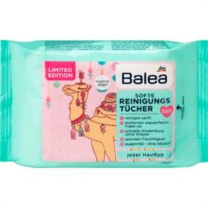 Balea Softe Reinigungstücher Kamel-Motiv