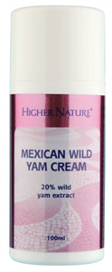 Higher Nature Mexican Wild Yam Cream
