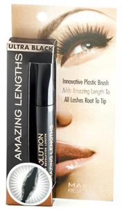 Makeup Revolution Amazing Length Vízálló Hosszabbító Szempillaspirál